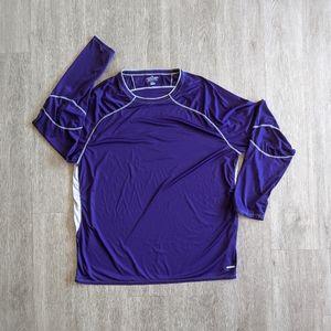 Russell Athletics MN's PPL&GR Shirt L/S SZ XXL